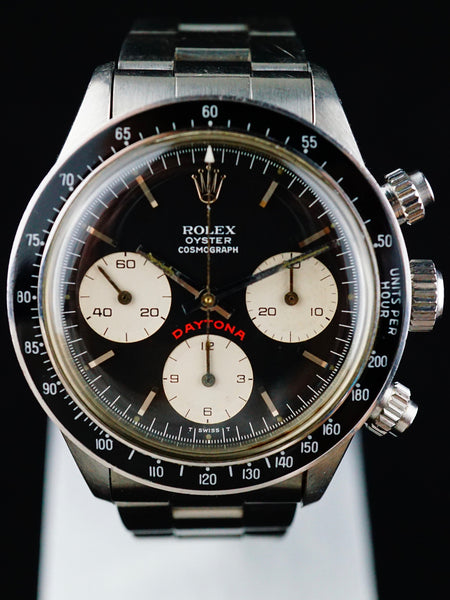"1978 Rolex Daytona Ref 6263 Black ""Big Red"""