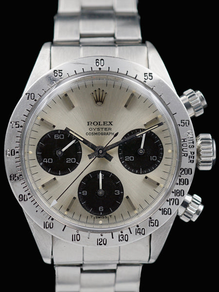1974 Rolex Daytona 6265 Big Eye ROC Silver Dial