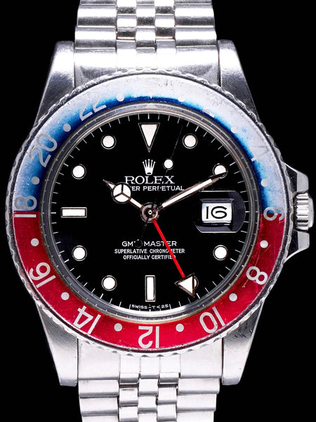 "1984 Rolex GMT-Master (Ref. 16750) ""Spider Dial"" With Box and Booklet"