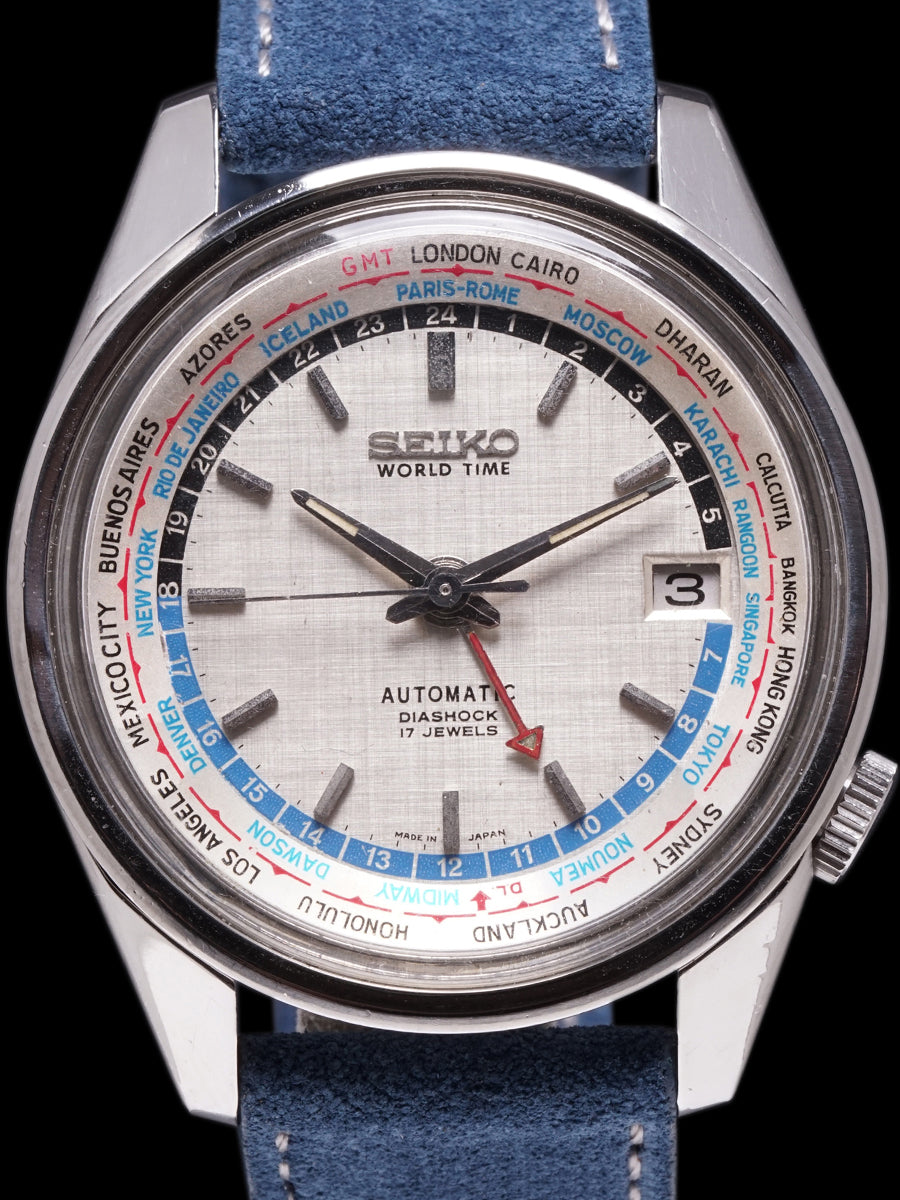 1968 Seiko Automatic World Time (Ref. 6117-6019)