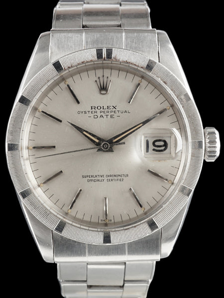 "1963 Rolex Oyster Perpetual Date (Ref. 1501) ""SWISS"" Only Dial"