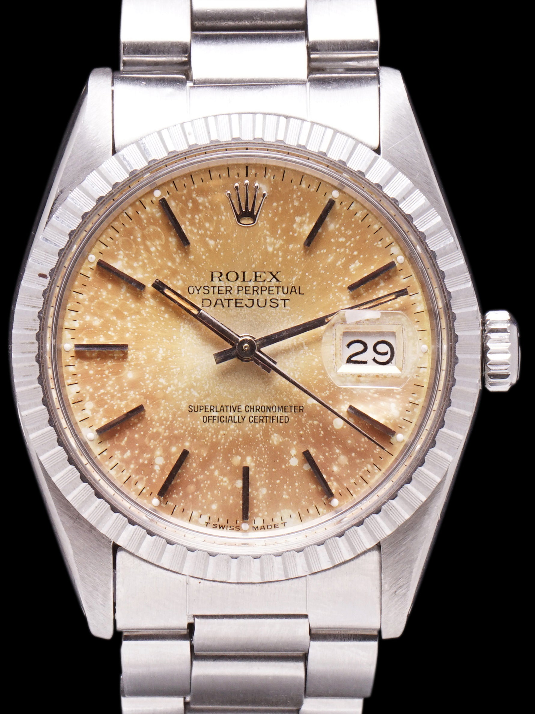 """Champagne Supernova"" Tropical 1979 Rolex Datejust (Ref. 16030)"