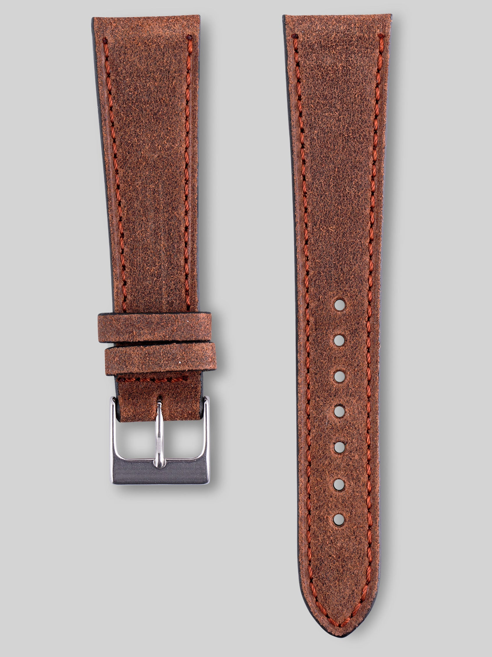 Nubuck Watch Strap - Coyote