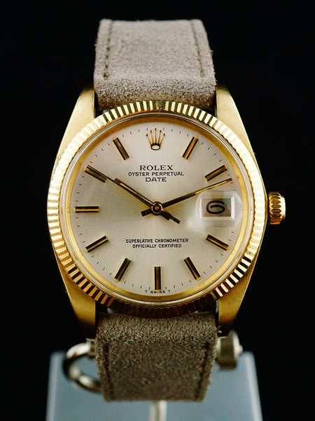 1980 Rolex Oyster Perpetual Date (Ref. 1503) 14K Solid Gold