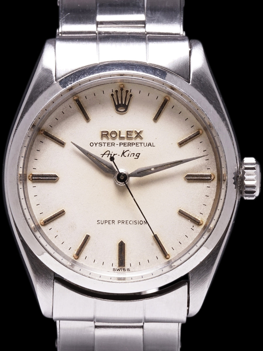 1958 Rolex Air-King (Ref.6552) White Dial