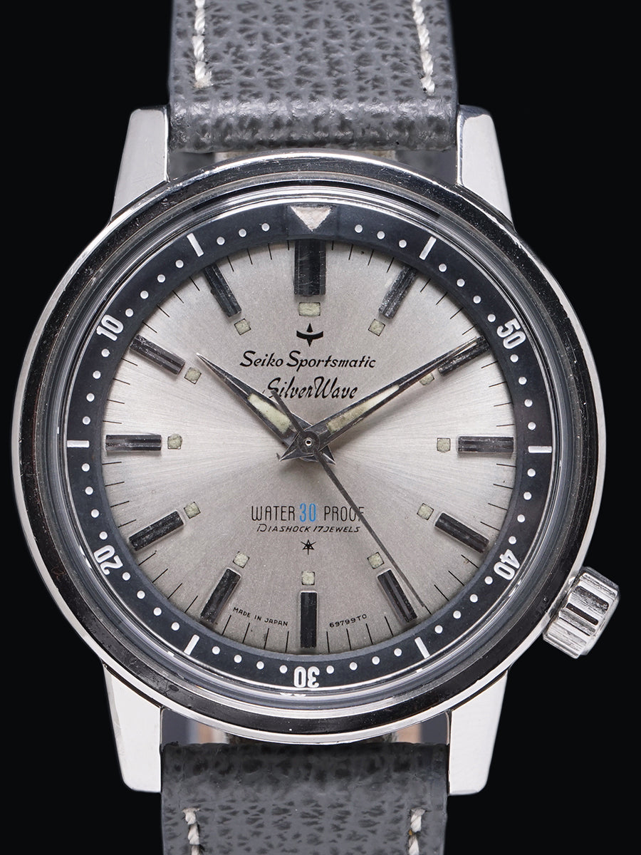 1964 Seiko Sportsmatic Silver Wave (Ref. 697990)