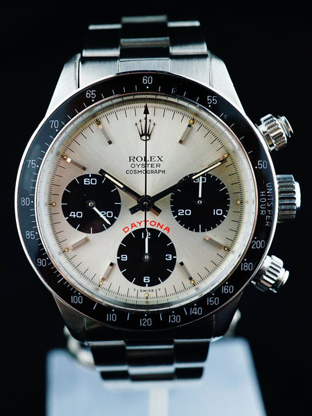 1985 Rolex Daytona 6263 Silver Big Red Daytona Dial