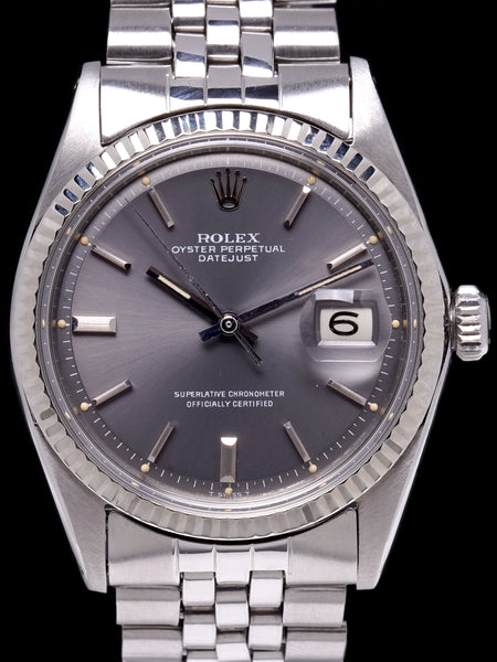 1969 Rolex Datejust (Ref. 1601) Grey Dial