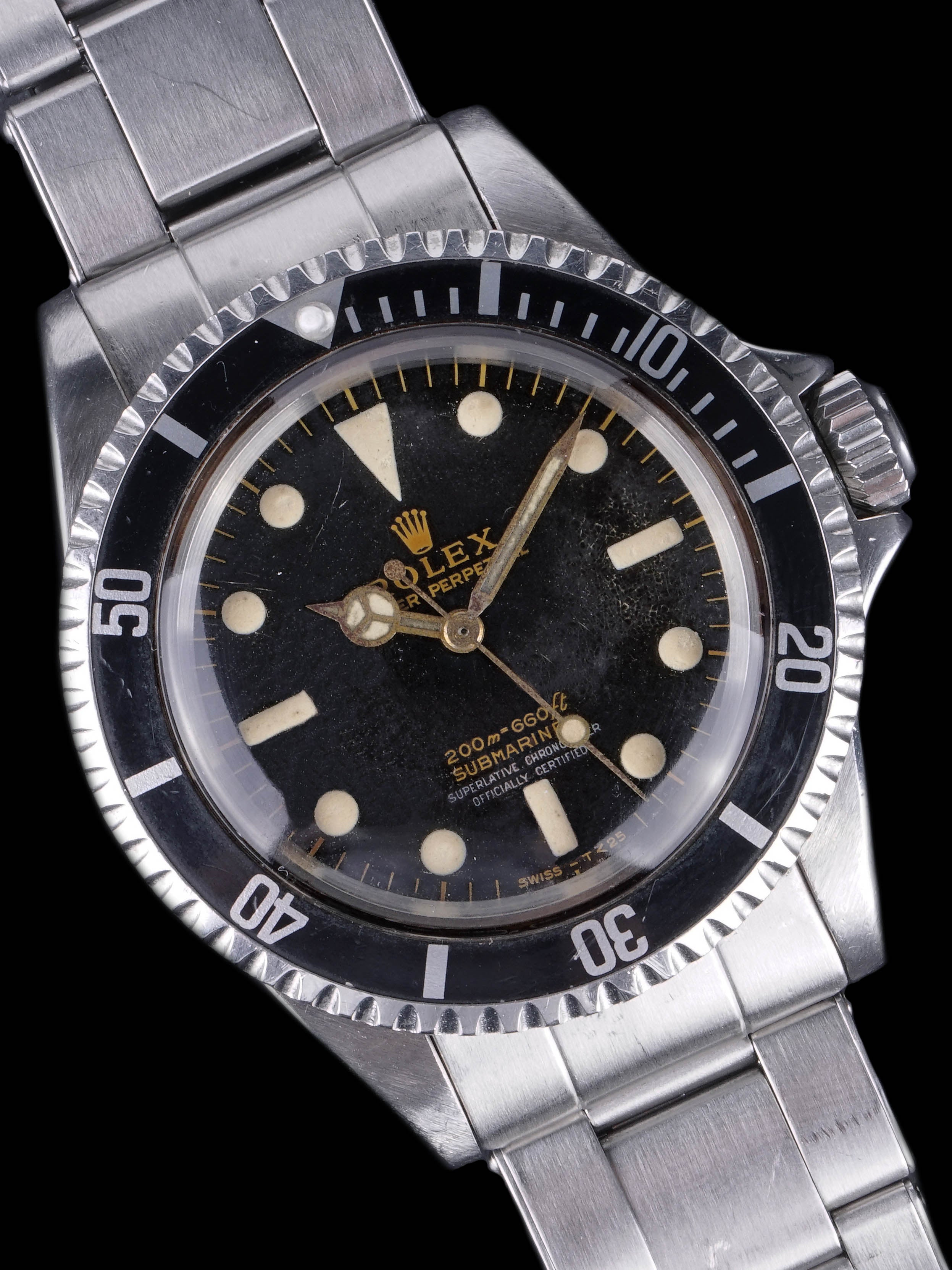 1965 Rolex Submariner (Ref. 5512) Two Color Gilt Dial