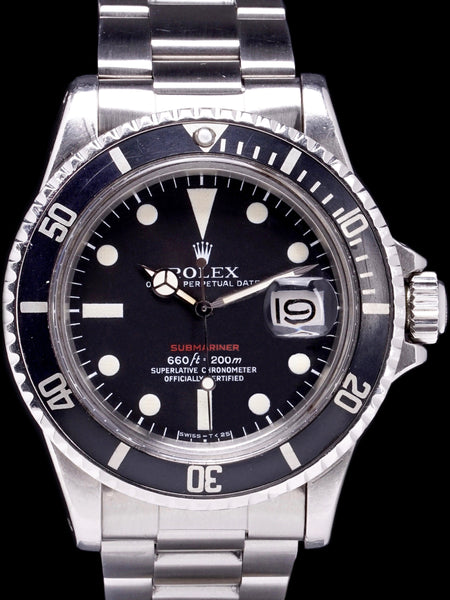 1971 Rolex Red Submariner (Ref. 1680) Mk. V