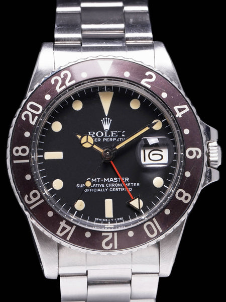 "1979 Rolex GMT-Master (Ref. 1675) Mk. V ""Hot Chocolate"""