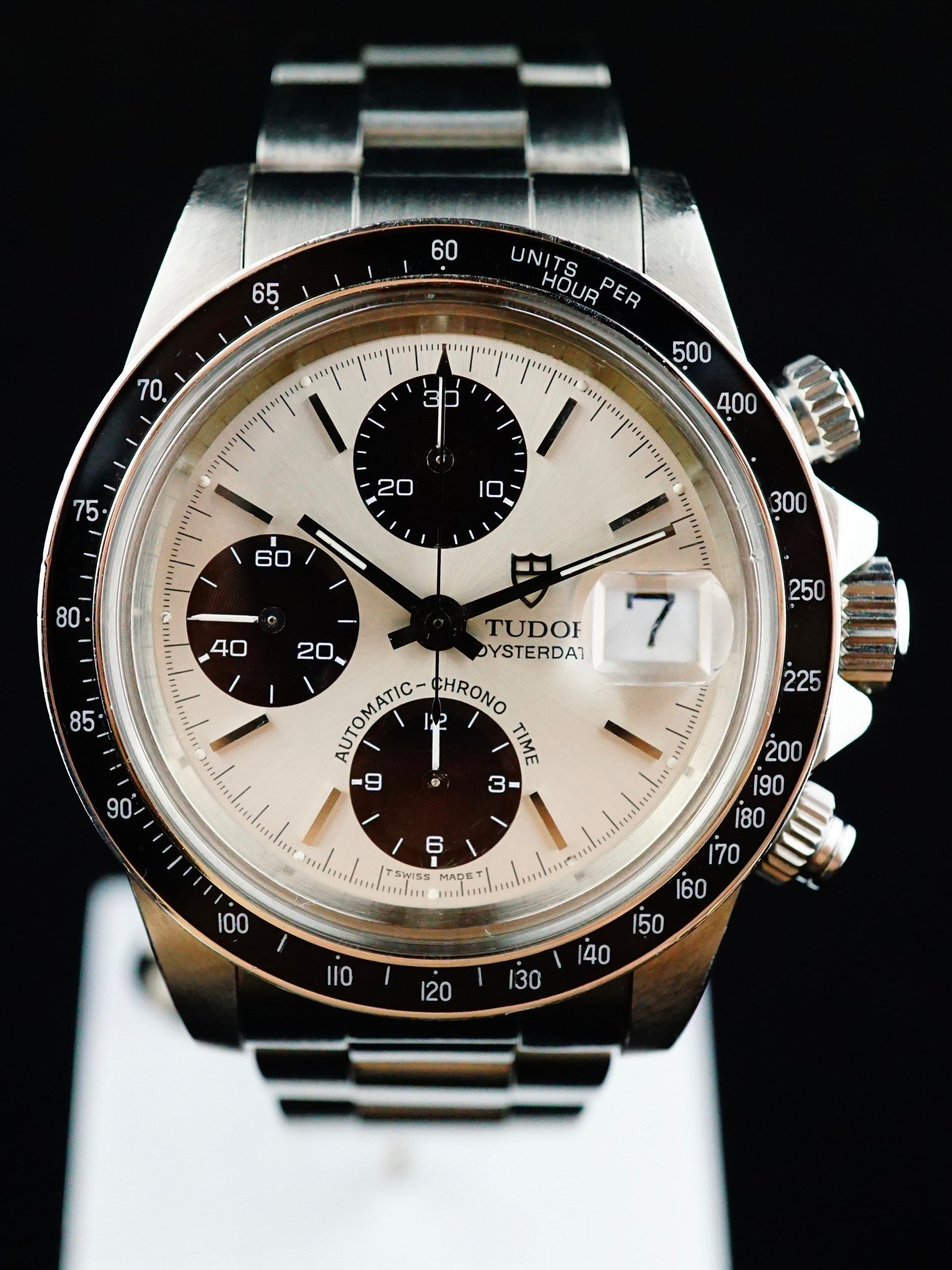 1994 TUDOR CHRONOGRAPH BIG BLOCK 79160 Box & Papers