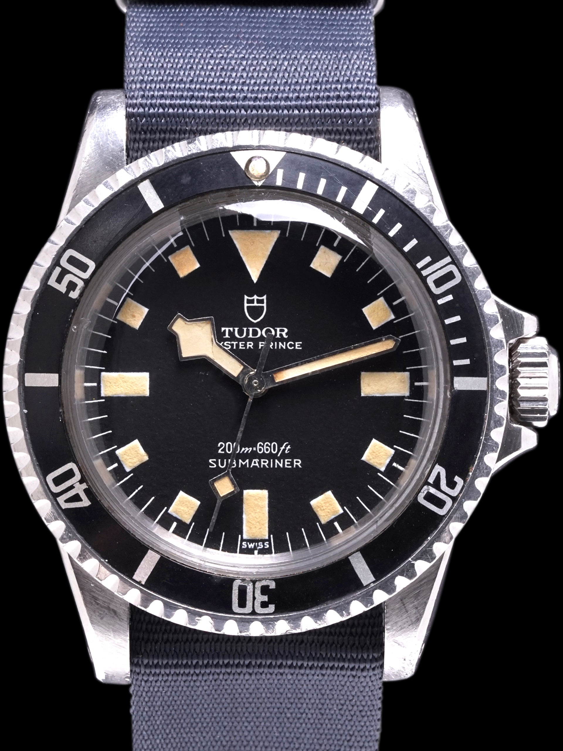 "*Unpolished* 1972 Tudor Submariner (Ref. 7016/0) ""Snowflake"""