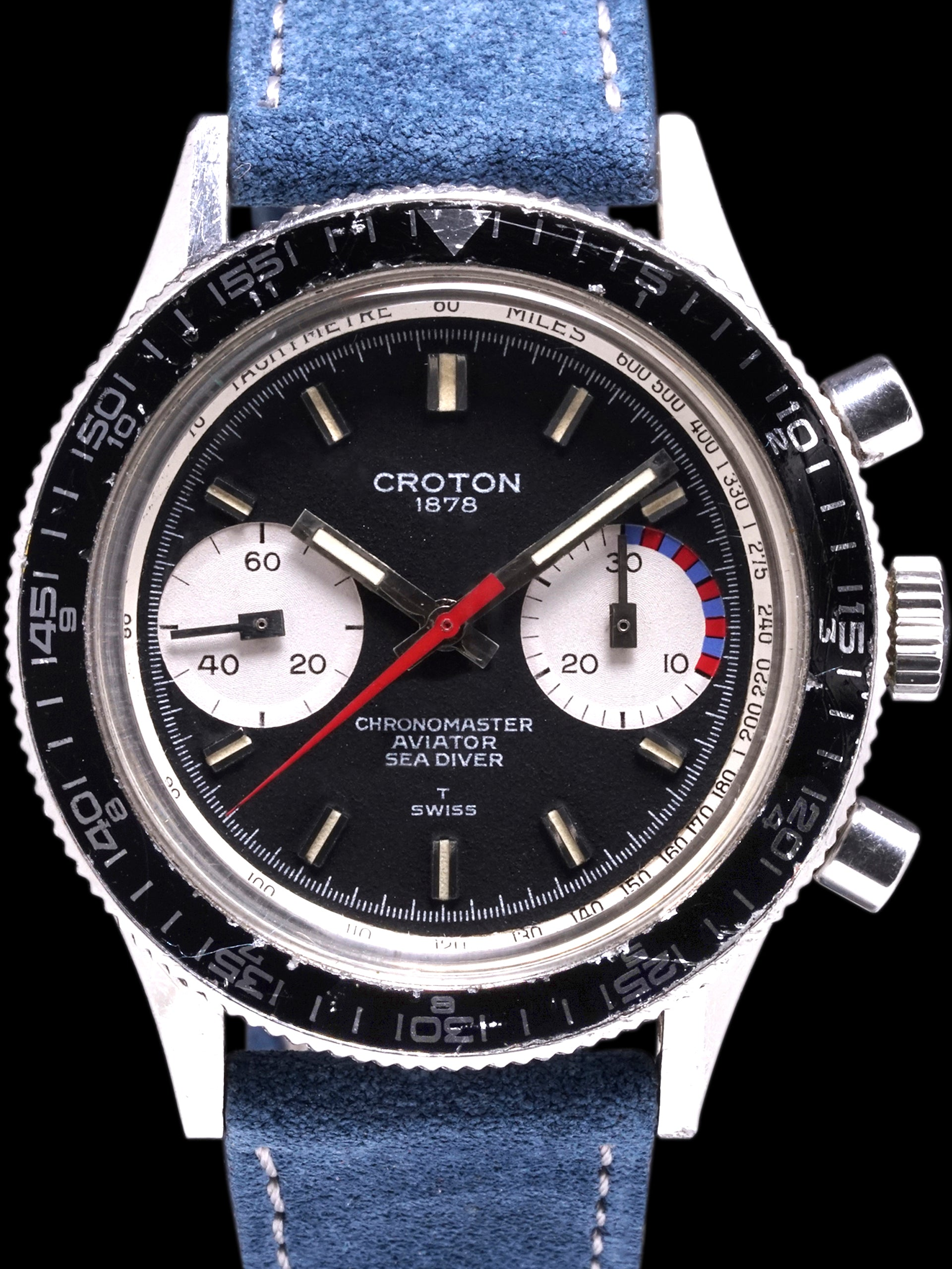 "Croton Aviator Sea Diver Chronograph (Ref. 107) ""Yachting"""