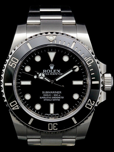 2015 Rolex Submariner (Ref. 114060) w/ Box and Papers