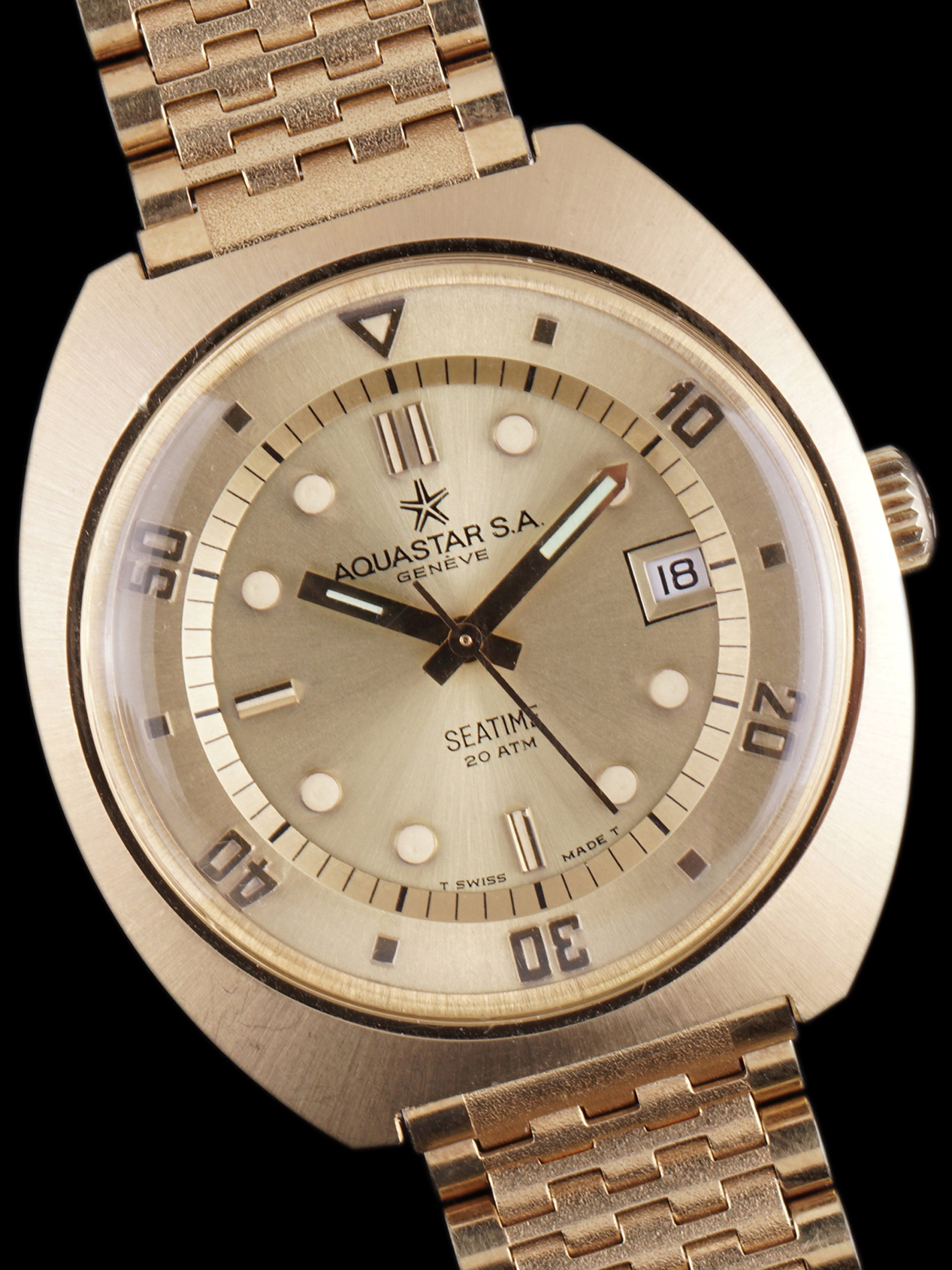 MINT 1970s Aquastar Seatime (Ref. 1000)