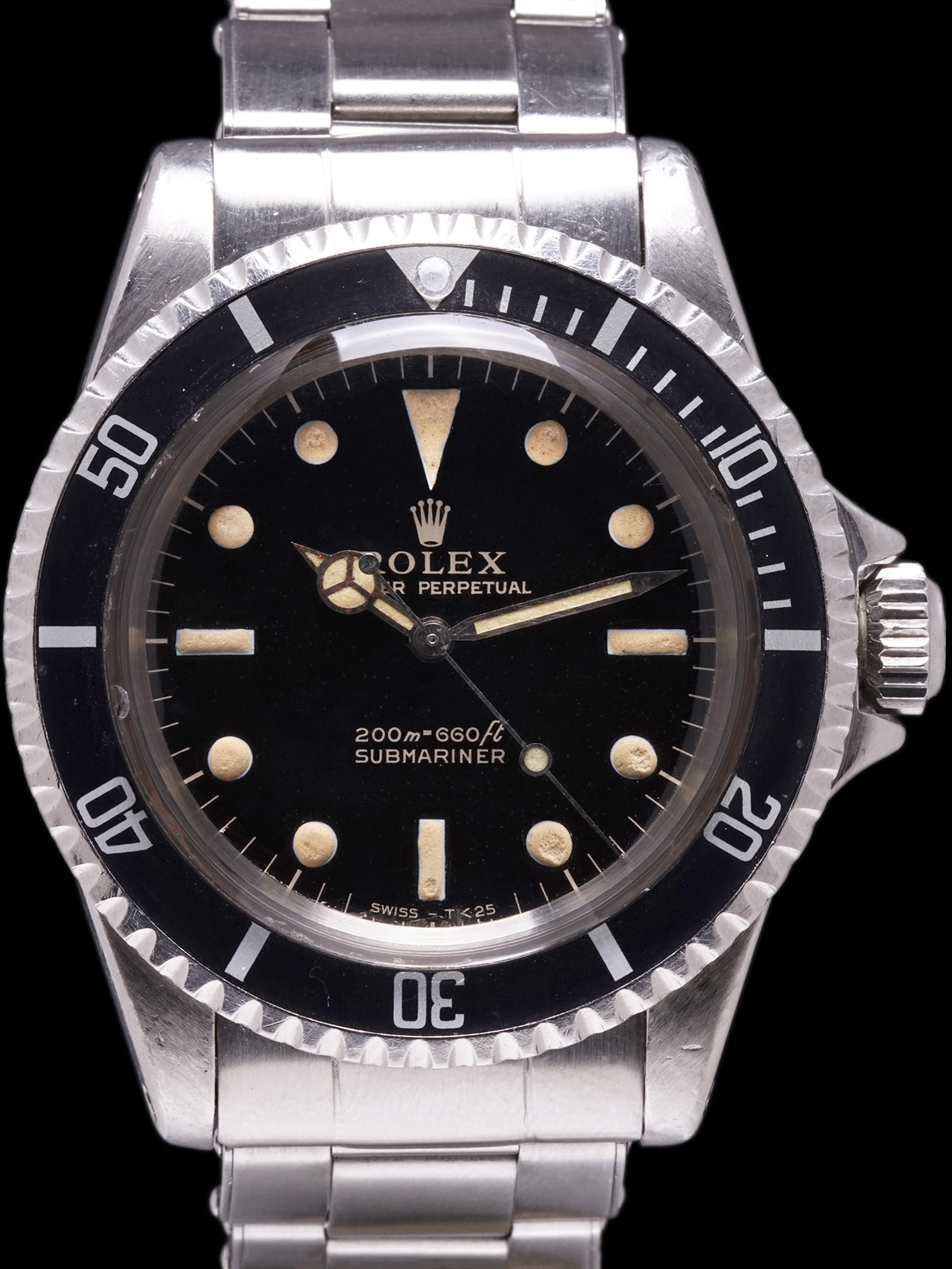 1966 Rolex Submariner (Ref. 5513) GILT Dial W/ Papers