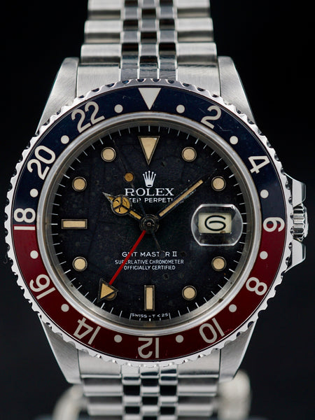 "1984 Rolex GMT Master II (Ref. 16760) ""Fat Lady Tropical Spider Dial"""