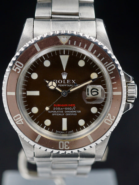 "1969 Rolex Red Submariner (Ref. 1680) ""Tropical Mk. II"""
