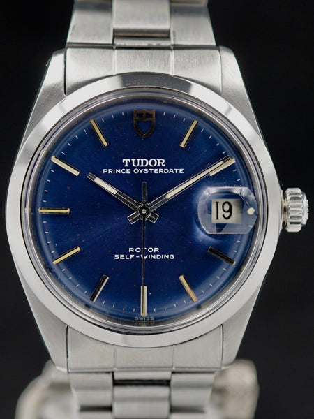 1967 Tudor Oyster Prince Date Blue Dial (Ref. 7966/0)