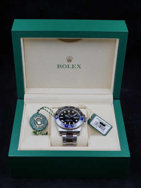 "2015 Rolex GMT II (Ref. 116710BLNR) ""Batman"" with Box and Papers"