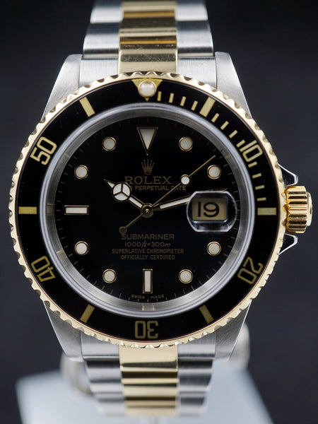 2002 Rolex Two-tone Submariner Ref. 16613