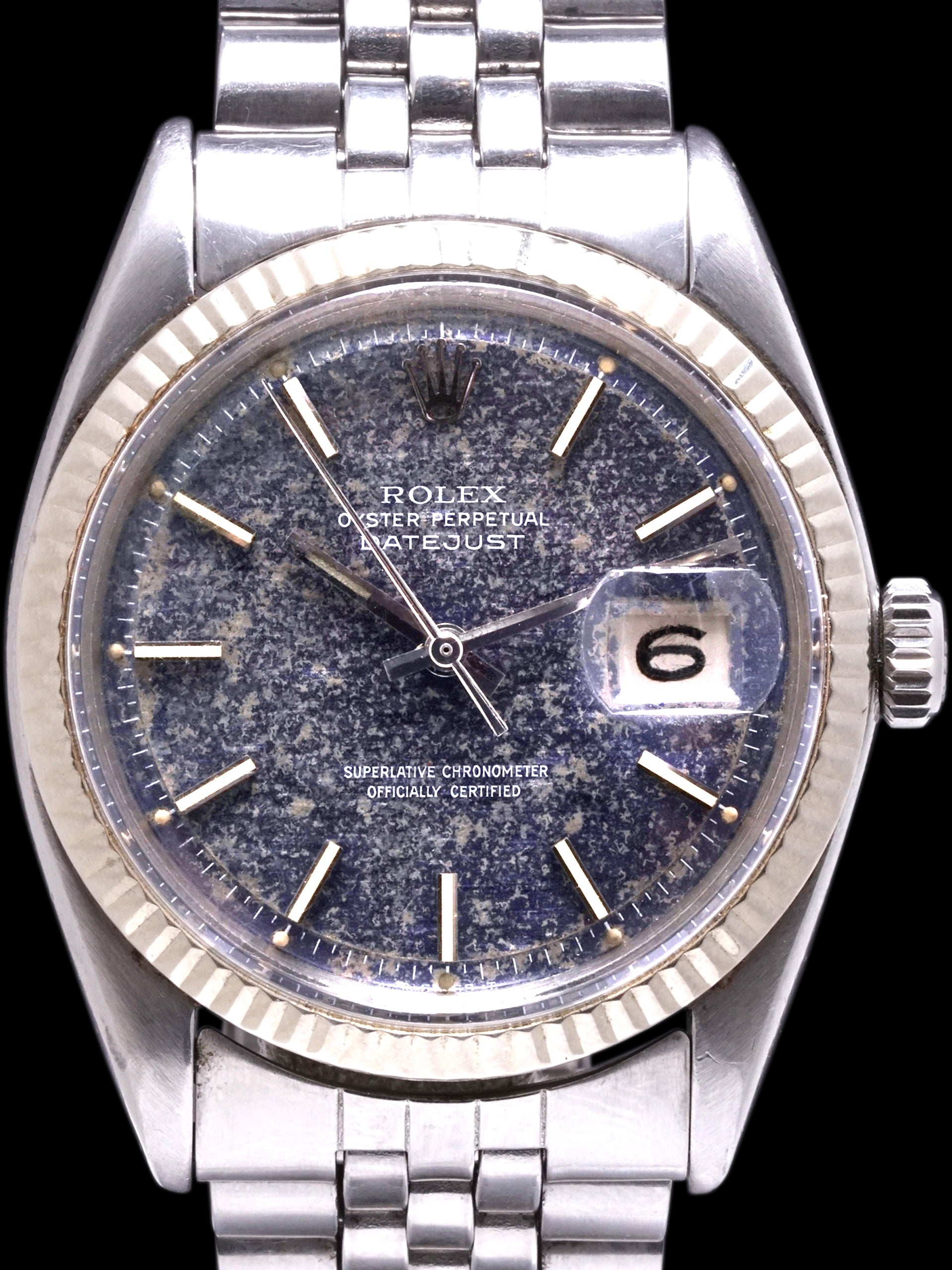 Tropical 1964 Rolex Datejust (Ref. 1601) Blue Dial