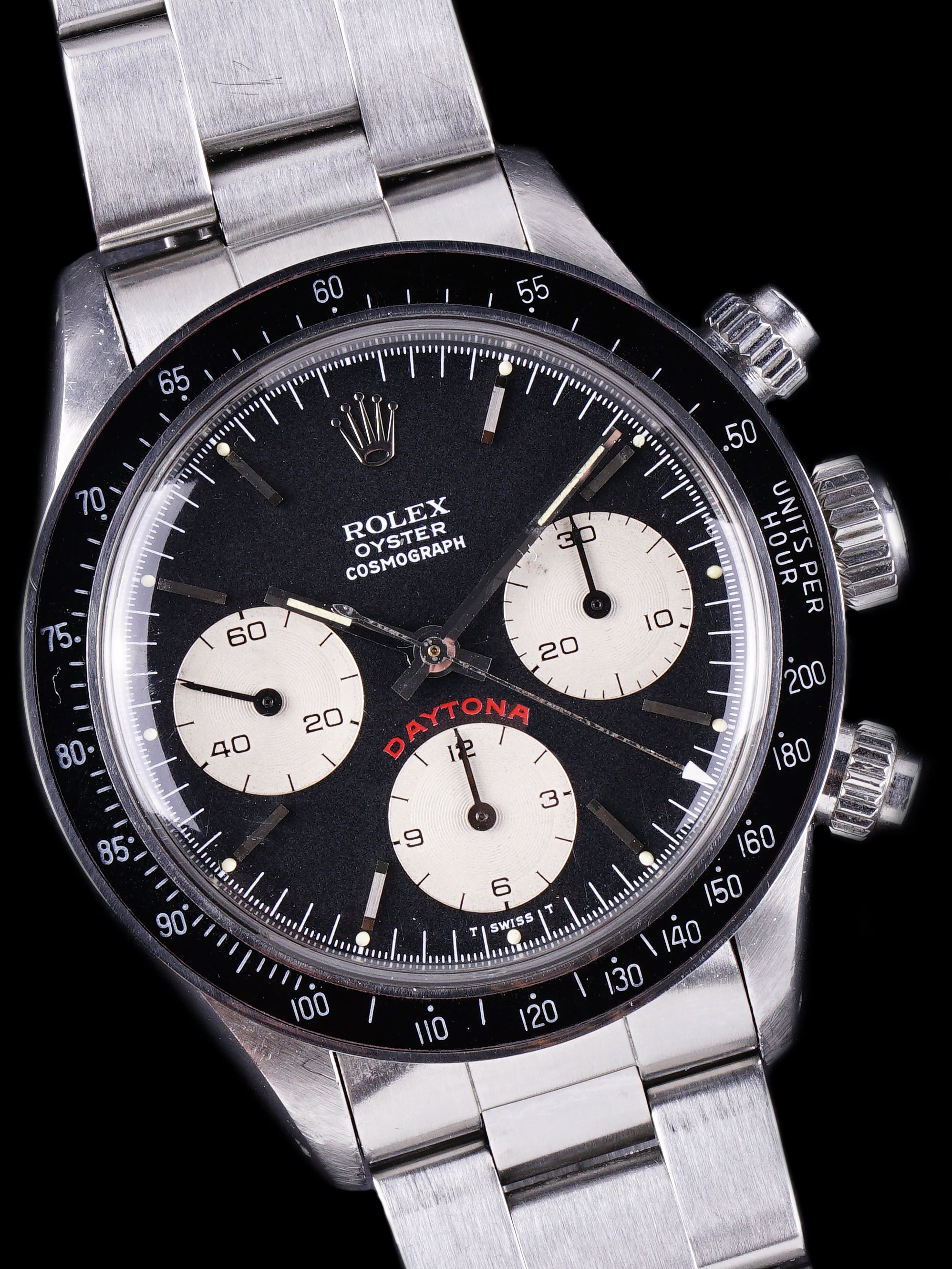 "1979 Rolex Daytona (Ref. 6263) Black Dial ""Big Red"" W/ Box and Papers"