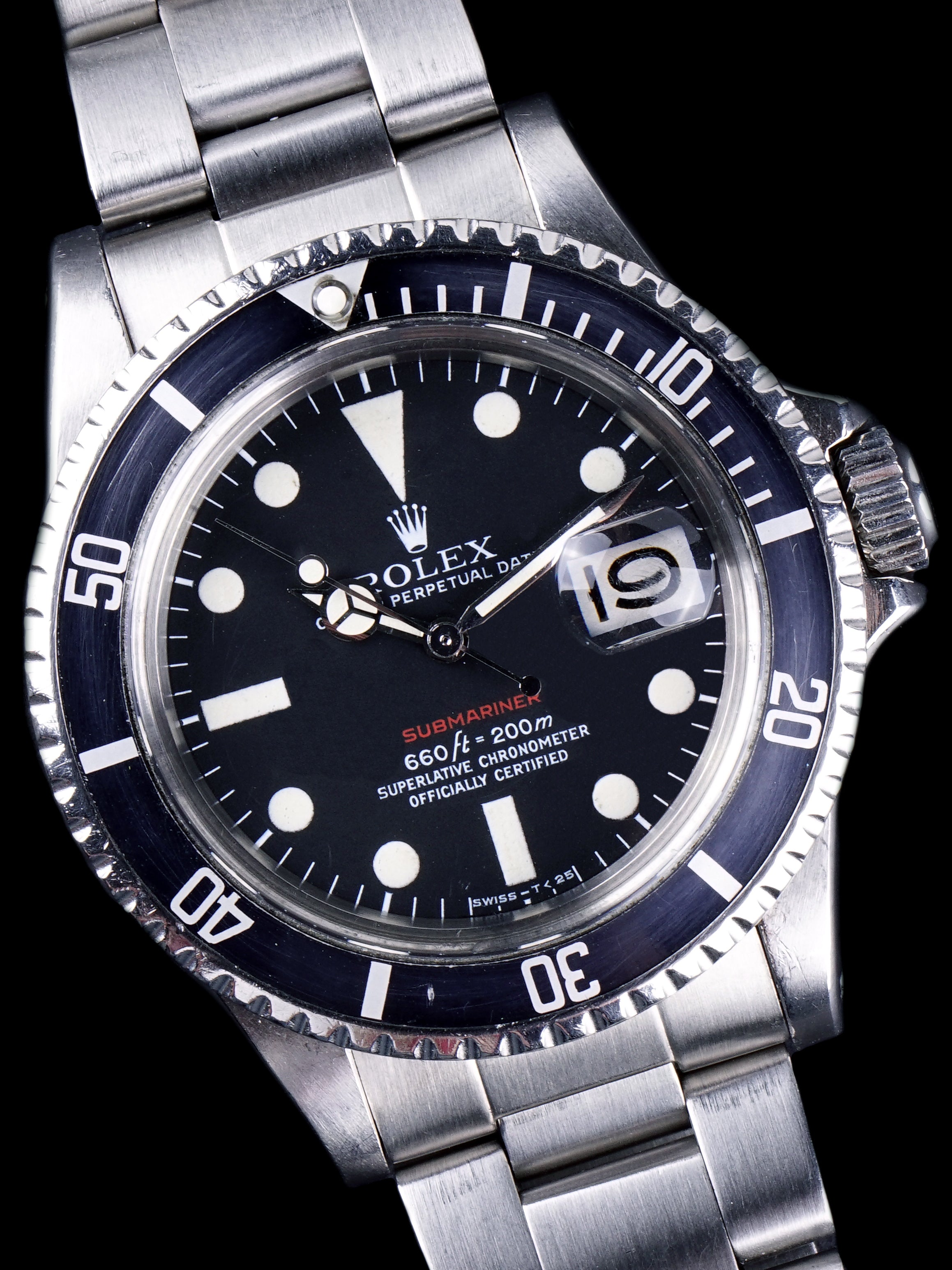 1972 Rolex Red Submariner (Ref. 1680) Mk. V