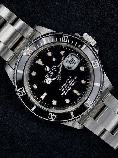 "1987 Rolex Submariner (Ref.168000) ""Triple Zero"" Transitional Model"
