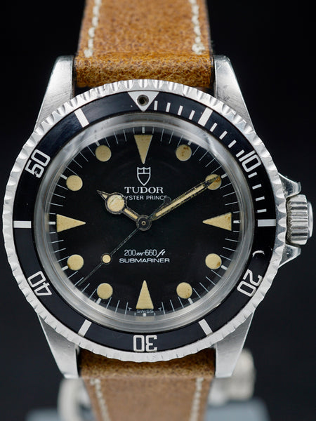 "1982 RCN Tudor Submariner Ref. 94010 ""Lollipop Hand"""