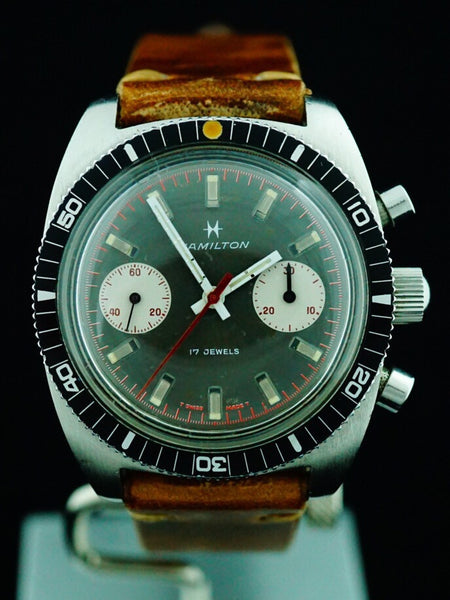 "1970 Hamilton Chrono-Diver ""Big Eye"" Chronograph"