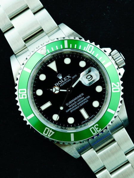 2008 Rolex Submariner  Ref. 16610LV MARK V Dial