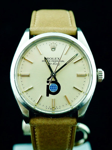 1979 Rolex Air King Pool Intairdril Logo