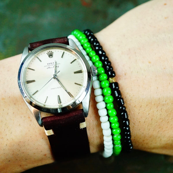 "Craft & Tailored  ""Mojo Beads"" Stretch Bracelet (Venin)"