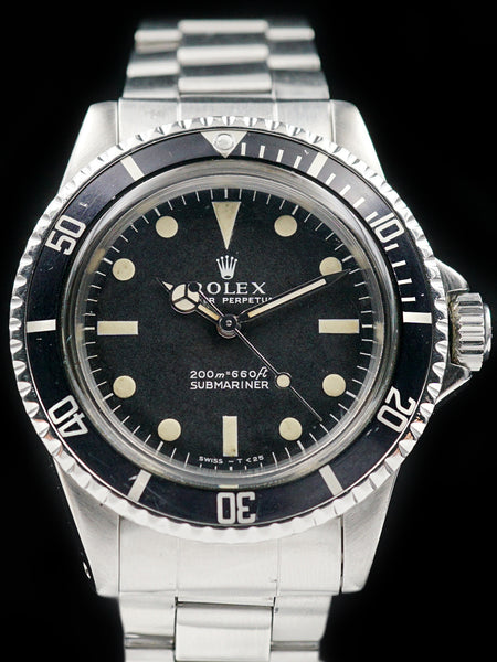 "1966 Rolex Submariner (Ref. 5513) ""Meters First"""