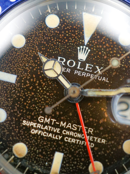 "1966 Rolex GMT-Master (Ref. 1675) Gilt ""Tropical"""