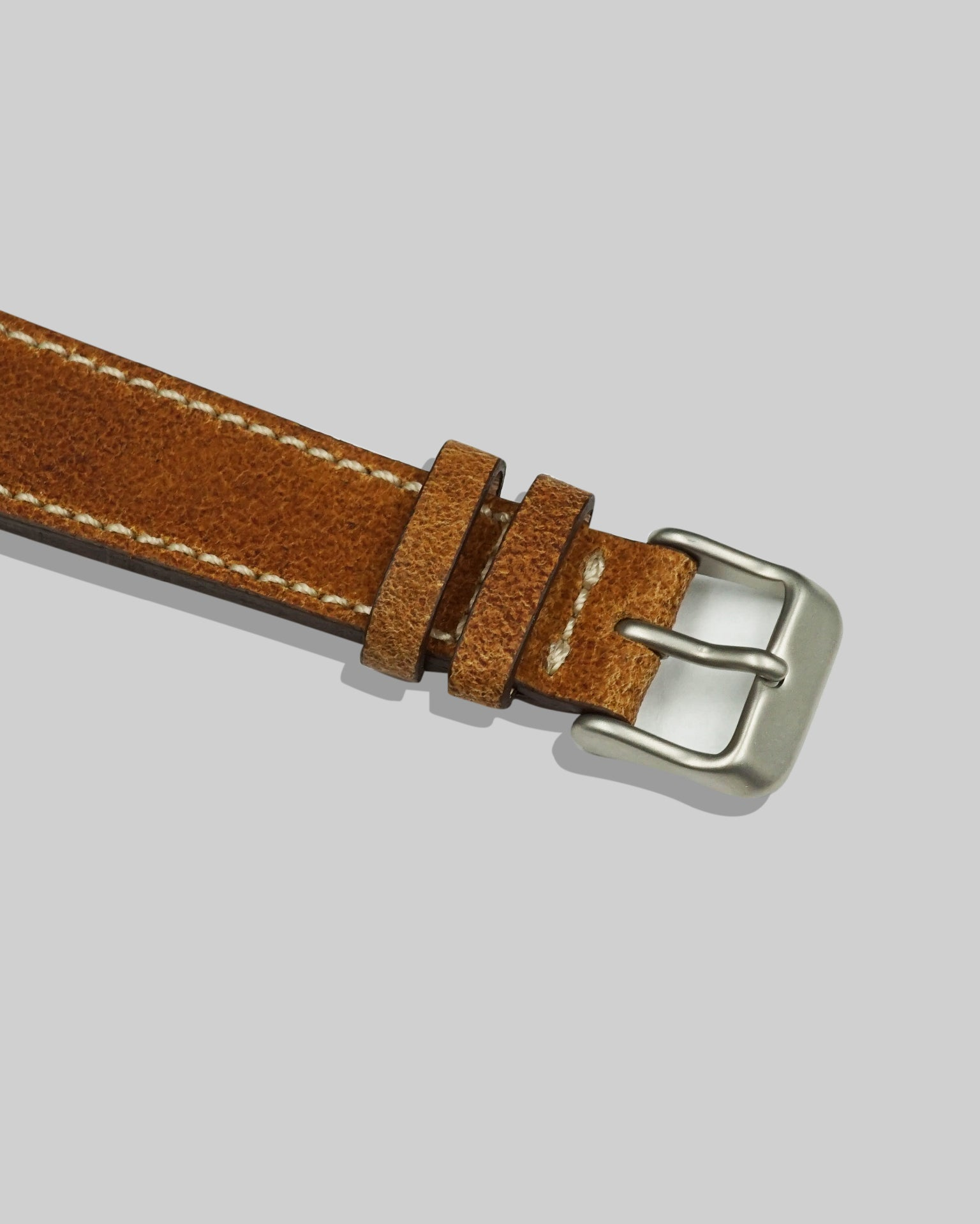 Nubuck Watch Strap (Bourbon)