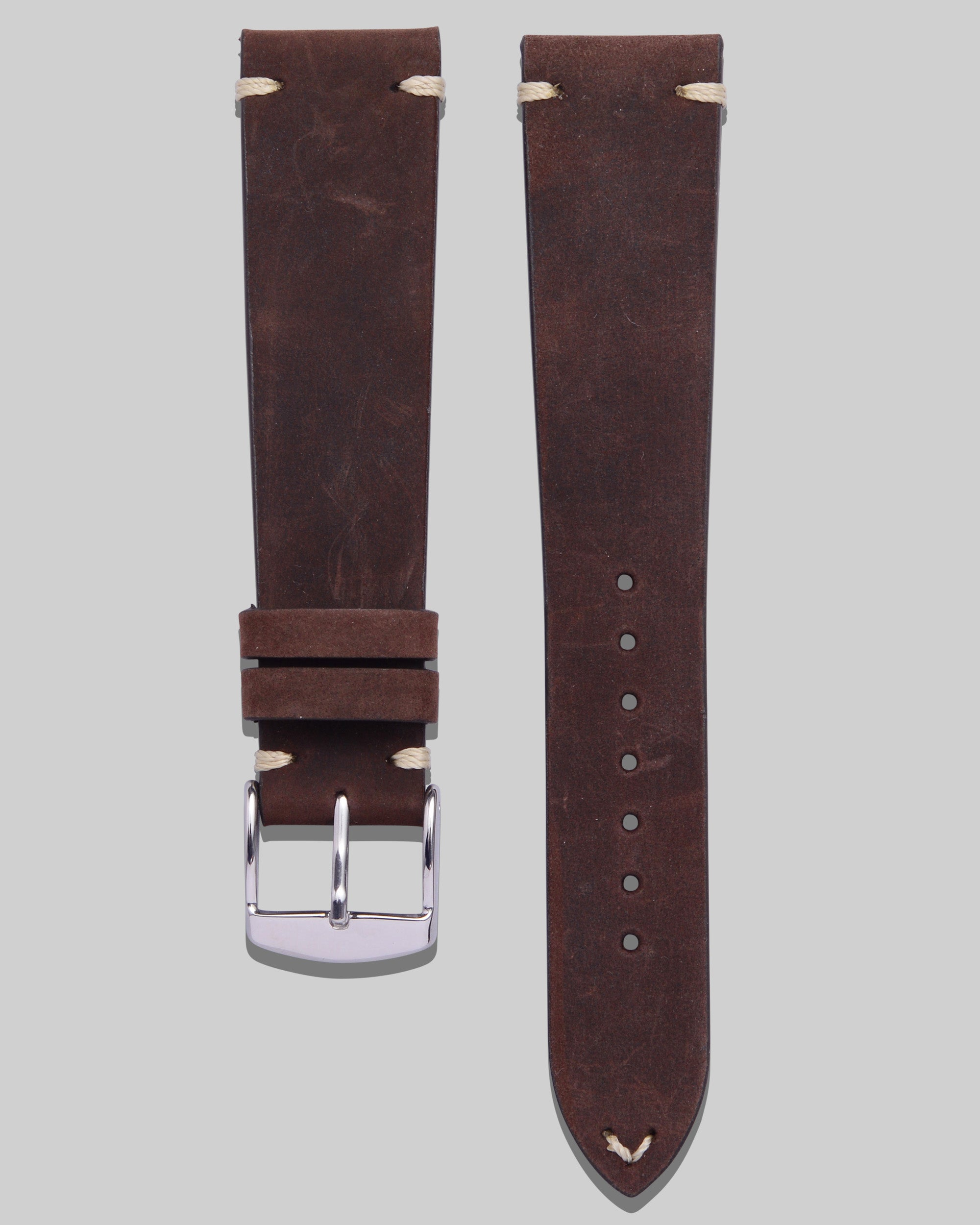 Vintage Style Watch Strap (Walnut)