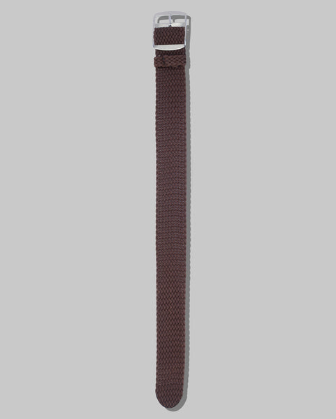 Perlon Single Pass Watch Strap (Brown)