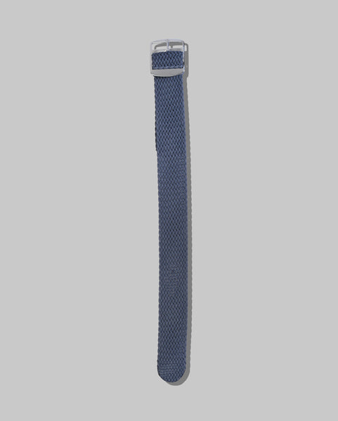 Perlon Single Pass Watch Strap (Grey)
