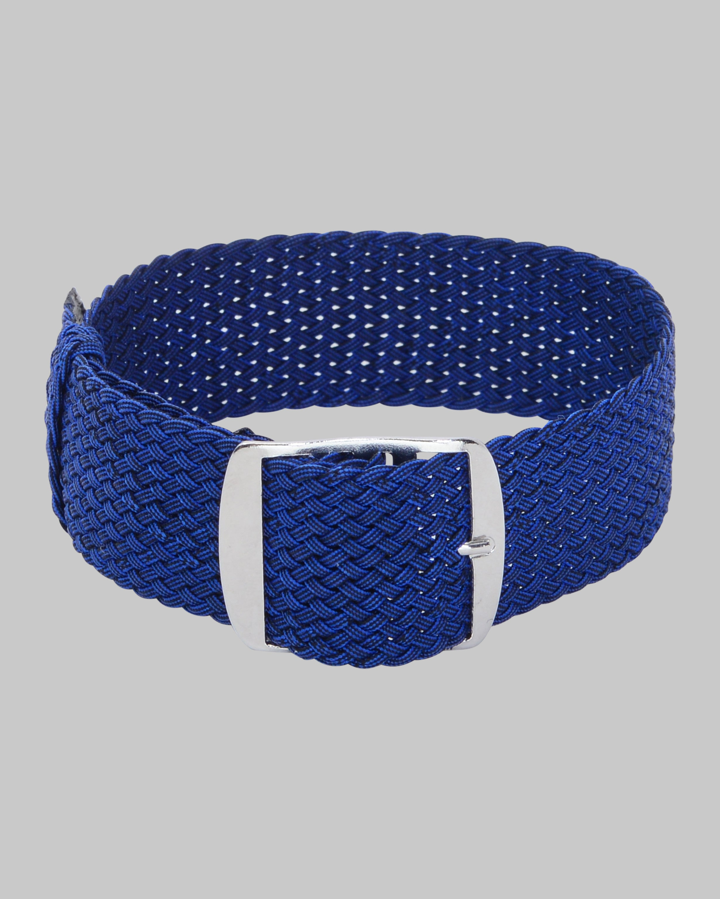 Perlon Single Pass Watch Strap (Blue)
