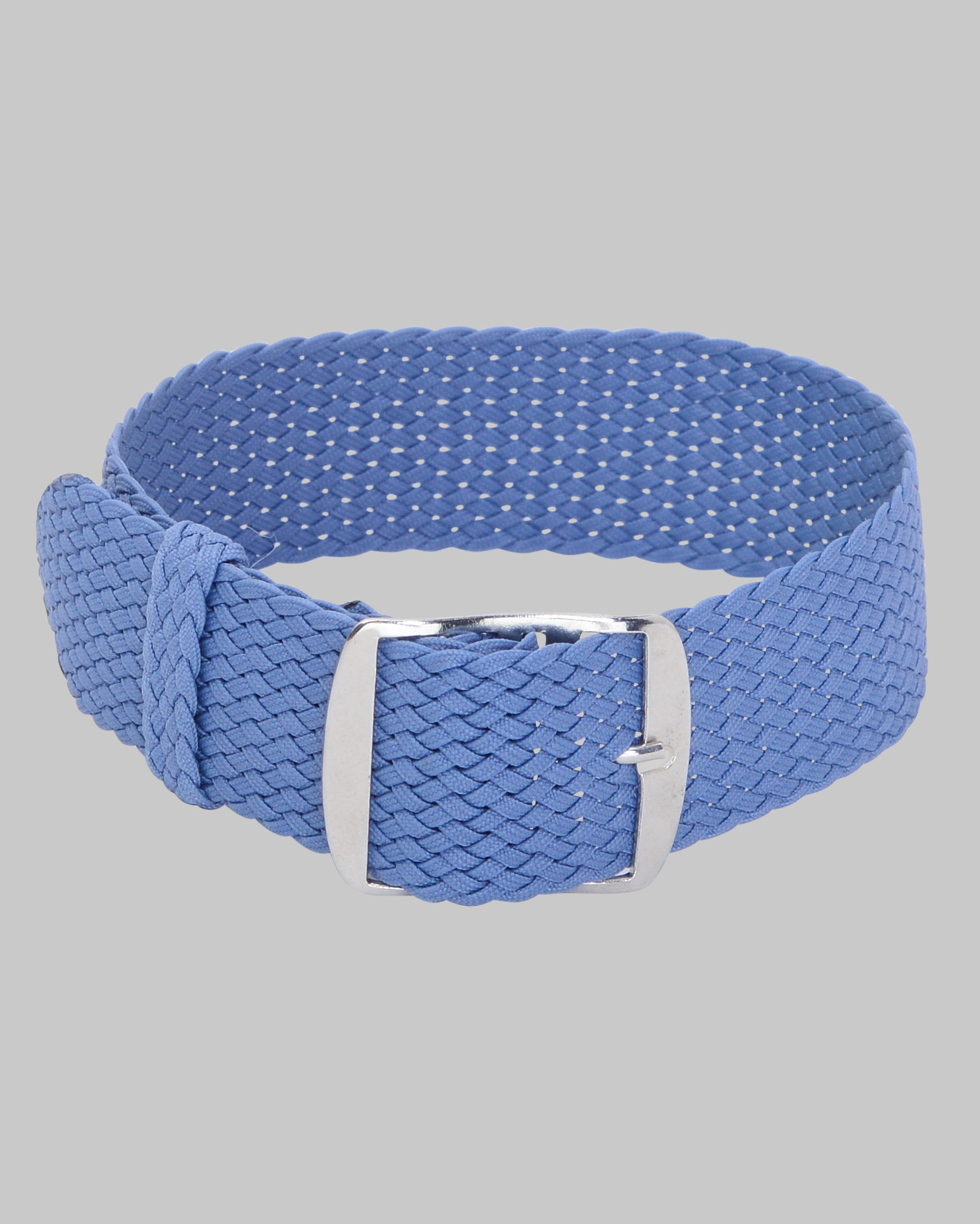 Perlon Single Pass Watch Strap (Light Blue)