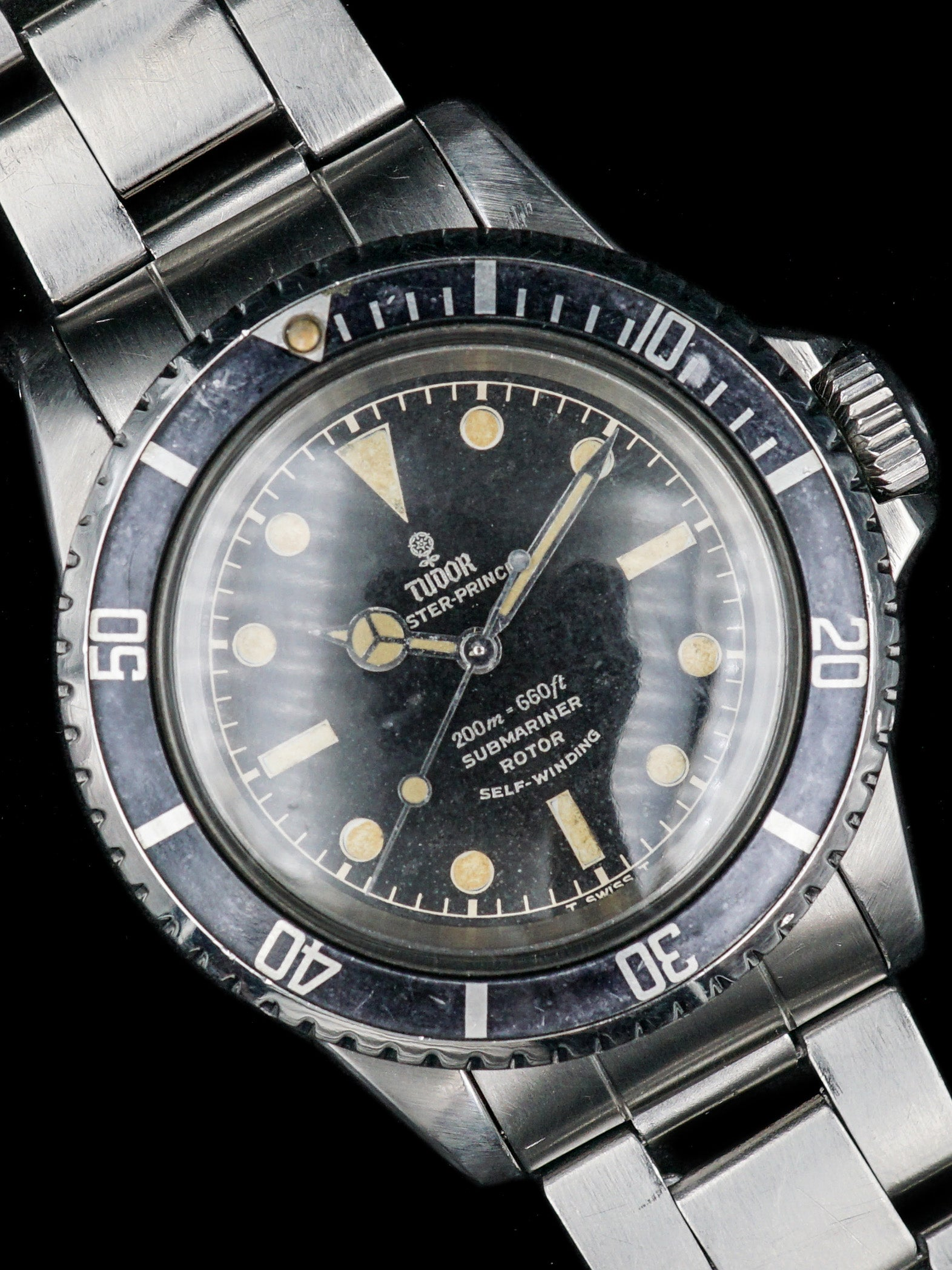 1965 Tudor Submariner (Ref. 7928) Gilt Chapter Ring Dial