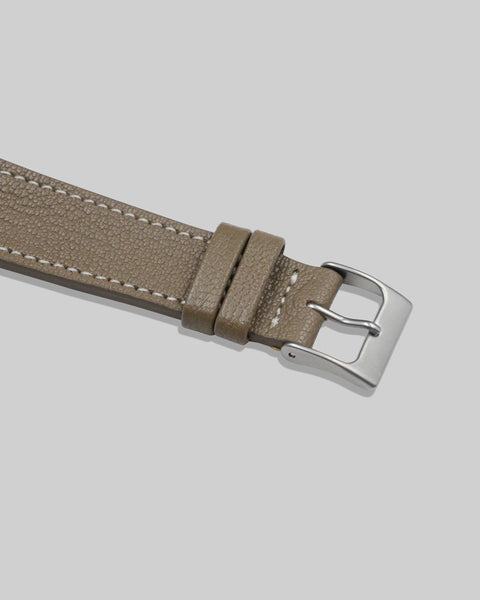 Goatskin Watch Strap (Taupe)