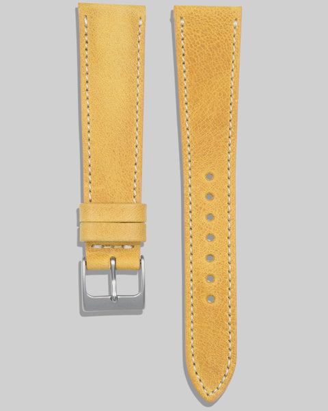 Antique Calfskin Watch Strap (Wheat)