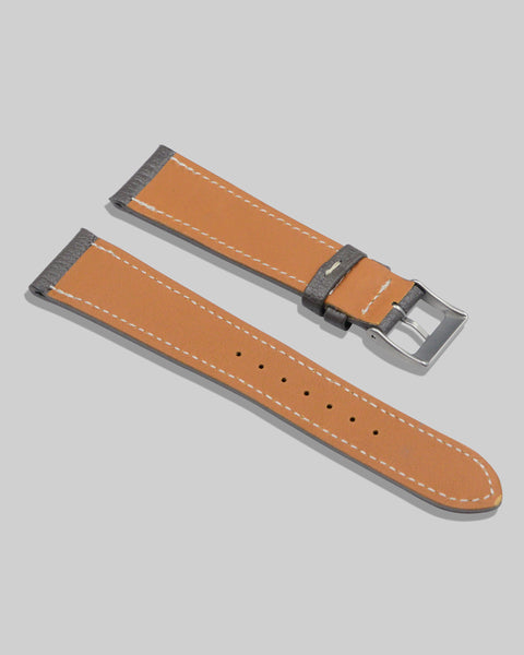 Goatskin Watch Strap (Gray)