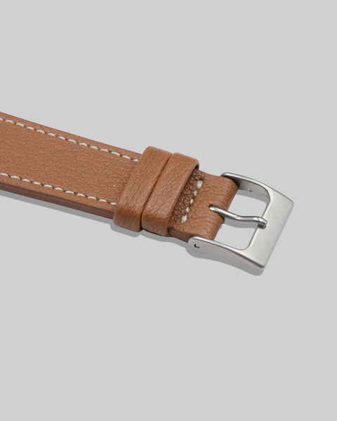Goatskin Watch Strap (Chestnut)
