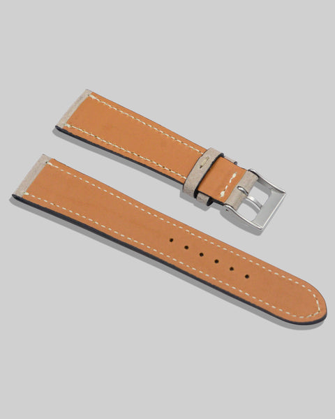 Nubuck Watch Strap (Taupe)
