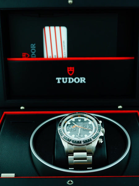 2014 Tudor Heritage Chrono 70330N With Box and Papers